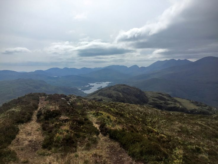 Torc mountain - home to the famous waterfall of the same name. The path to the summit rewards moderate effort with superb views of Killarney National Park.