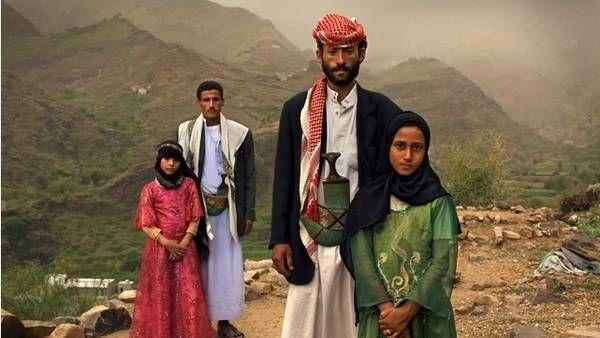 Maridos y ¿mujercitas? Parejas de casados, en Yemen