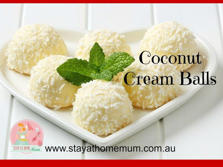 coco cream balls | stay at home mum