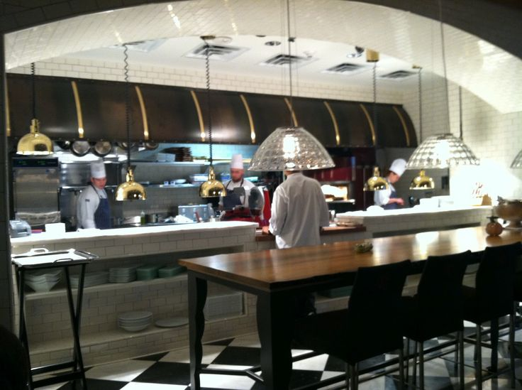 find this pin and more on open kitchen restaurant - Restaurant Open Kitchen Design