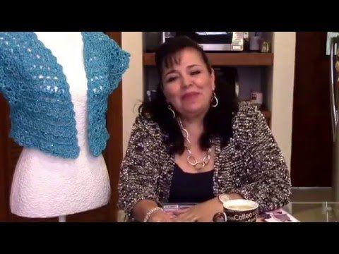 TORERITA TURQUESA - Tejida en gancho fácil y rápido - Tejiendo con LAURA CEPEDA - YouTube