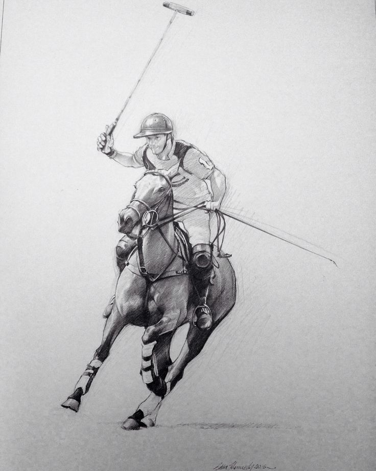Spencer McCarthy. One of the UKs top amateur polo players.