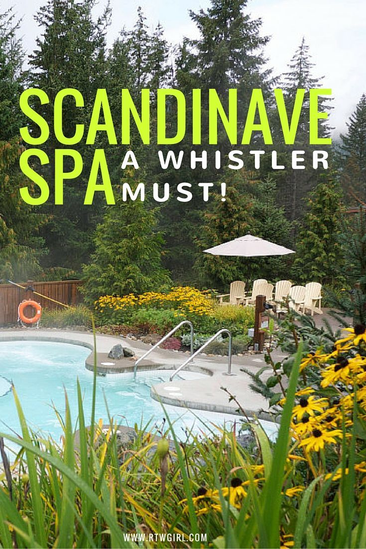 If you're planning a trip to Whistler, Canada, add Scandinave Spa to your itinerary. It's an amazing outdoor Nordic spa experience that shouldn't be missed!   via www.rtwgirl.com