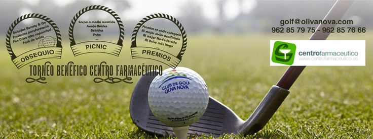 Quedan solo dos días para el Torneo Benéfico Centro Farmacéutico. ¡Ven y participa! Only to days to go for Charity Golf Tournament  Centro Farmacéutico. Come and join us!