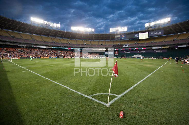 Washington, DC - June 21, 2017: D.C. United defeated Atlanta United 2-1 during their Major League Soccer (MLS) match at RFK Stadium. #DCUnited #DCU #WeAreUnited