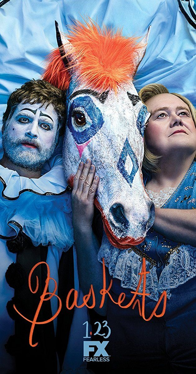 Created by Louis C.K., Zach Galifianakis, Jonathan Krisel.  With Zach Galifianakis, Martha Kelly, Louie Anderson, Ernest Adams. After failing at a prestigious French clowning college, Chip Baskets looks to keep his dream of becoming a professional clown alive.