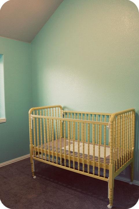Painted Jenny Lind Crib