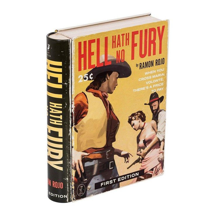 Hell Hath No Fury Pulp Fiction Book Tin