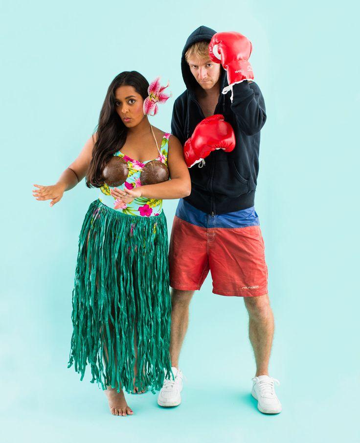 8 all new diy couples halloween costumes - Simple Diy Halloween Costume