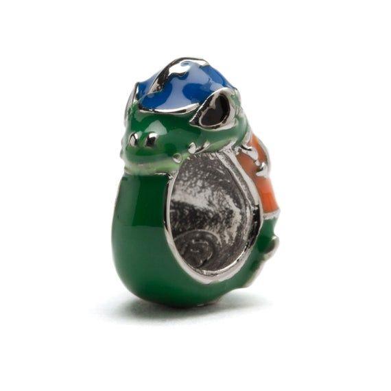 University of Florida Charm Bracelet University of Florida Gift Albert Gator Charm Bracelet Stainless Steel Gator Charm Bracelet
