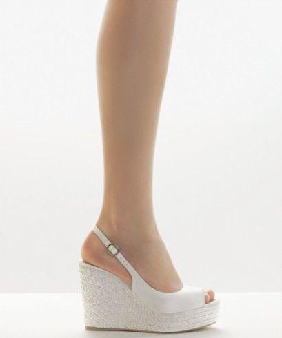 Zapatos Novia Rosa Clará 2011