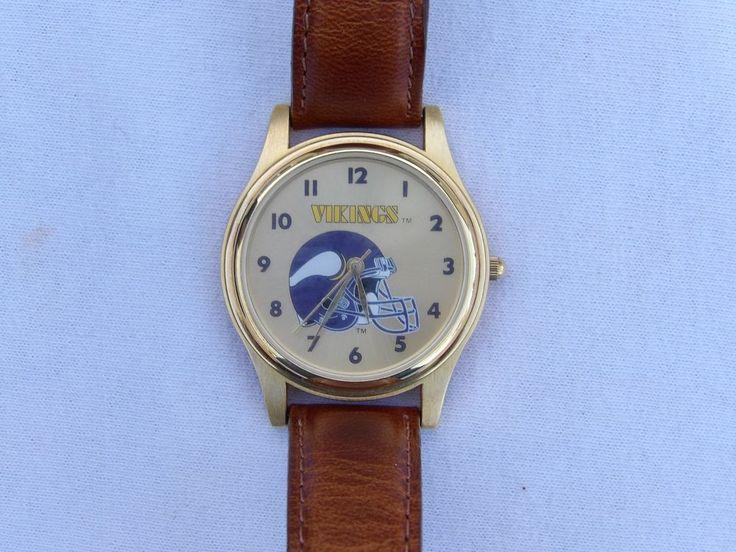 NFL Vikings Wrist Watch -  Fantasma  - Analog  #FantasmaSport #MinnesotaVikings