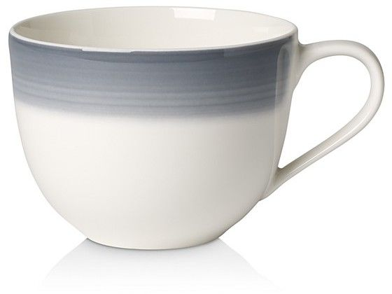 Villeroy Boch Colorful Life Cosy Grey Coffee Cup Saucer
