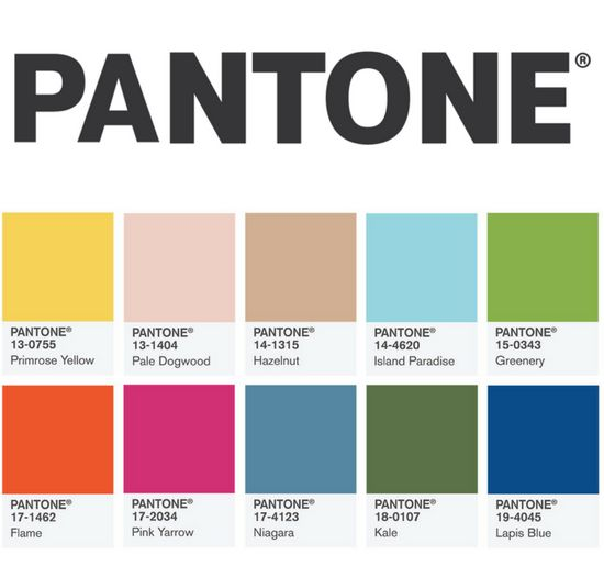 Pantone Colour Report 2017