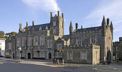 Tavistock is often voted the prettiest market town in England.  The Pannier Market is worth a visit