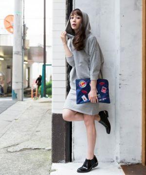 大人レディな着こなし☆おしゃれなパーカーワンピのコーデ♡スタイル・ファッションの参考に♪