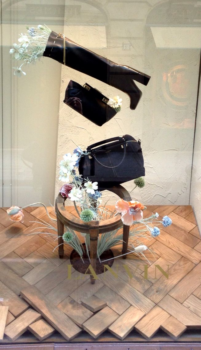 "LANVIN, Paris,France, ""......it plops down in your favorite chair and it stays as long as it wants"", pinned by Ton van der Veer"