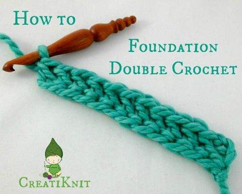 This Easy technique will give you the same stretchy results and will build your first row of double crochets! This is great for sweaters sleeves, hats worked from the brim up, or anything you want to have a nice stretch.