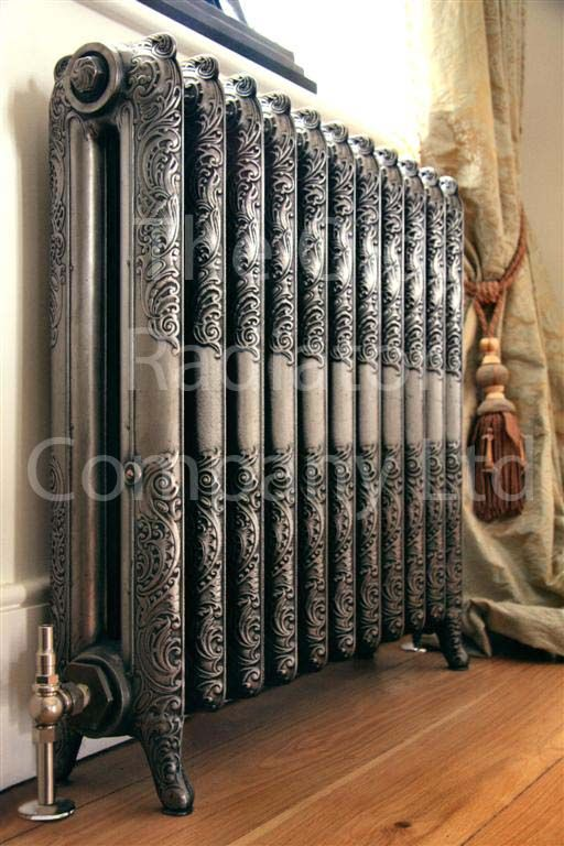 Would love an ornate radiator in the bedroom.