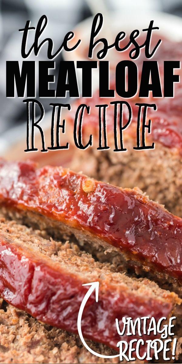 Momma S Meatloaf Recipe Good Meatloaf Recipe Classic Meatloaf Recipe Recipes