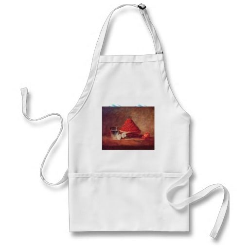 Jean Chardin - The strawberry basket Aprons