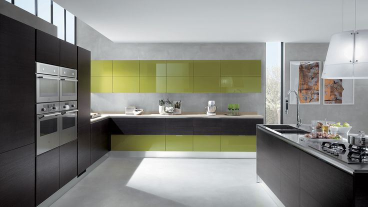 Kitchen Mood Scavolini - would be perfect for me in white :)