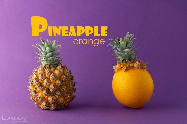 Pineapple Orange Food Drink Photography Pineapple Food Photography
