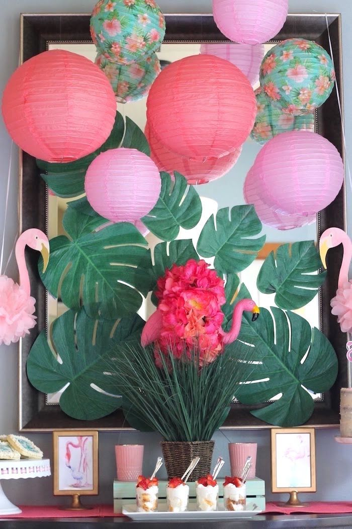"""""""It's Time to Flamingle"""" Mother's Day Party on Kara's Party Ideas 