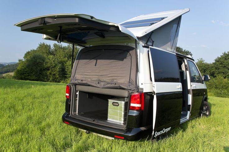 ausbau optionen der spacecamper vw t5 t6 camping ausbau reisemobil wohnmobil campingbus. Black Bedroom Furniture Sets. Home Design Ideas