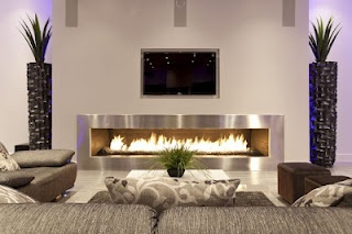 Through the Front Door: the modern fireplace