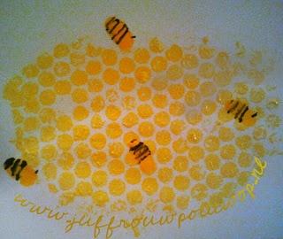 Juffrouw Pollewop: Bijen knutselen