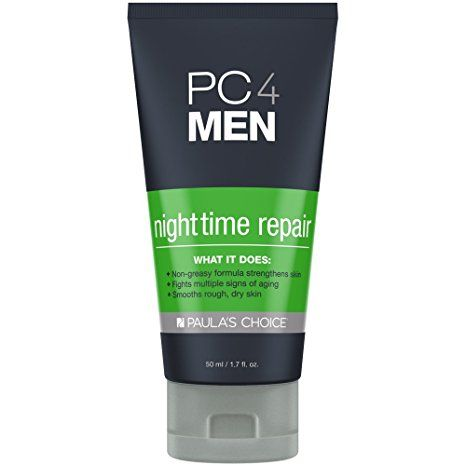 Paula's Choice PC4MEN Nighttime Repair Men's Moisturizer with Retinol for All Skin types – 1.7 oz Review