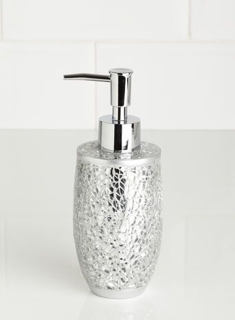 silver crackle bathroom accessories. Silver Crackle Mosaic Soap Dispenser  bathroom accessories Home Lighting Furniture 56 best Splish Splash Sparkle images on Pinterest
