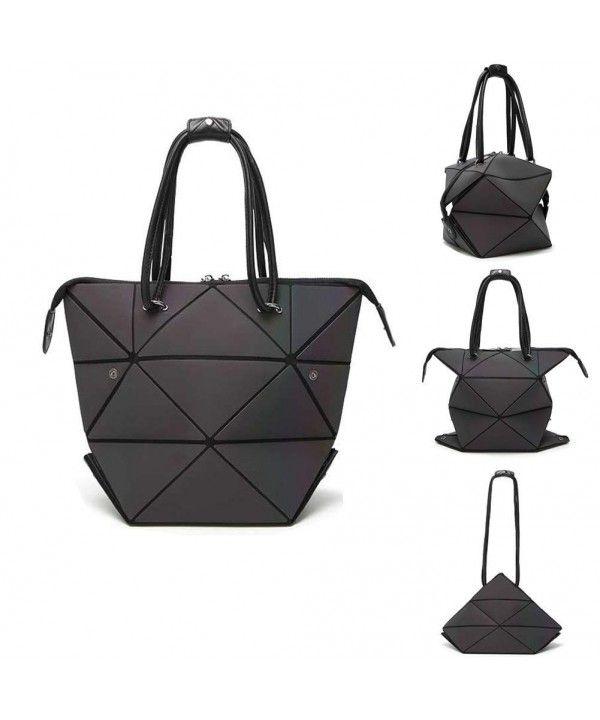 66ba0c0e671d Women's Bags, Totes, Geometric Changeable shape Bag Luminous Top ...