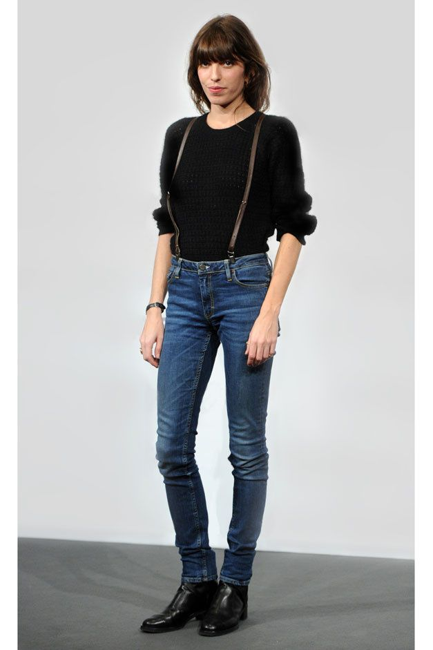 Le look Tomboy de Lou Doillon  [ Jeans, For the People. CV ]