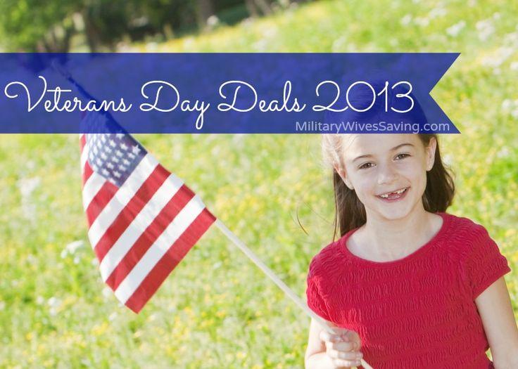 Veterans Day Freebies Deals Coupons Discounts Printables (November 11, 2013) — Military Wives Saving
