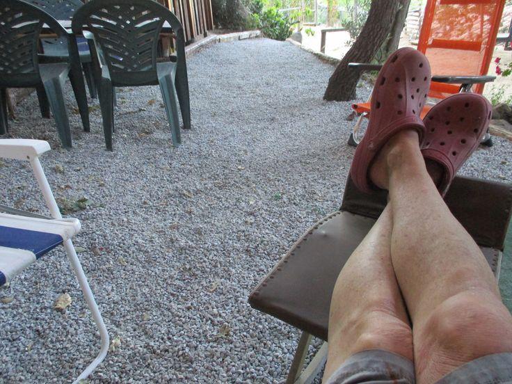 ...die Beine hochlegen und geniessen!