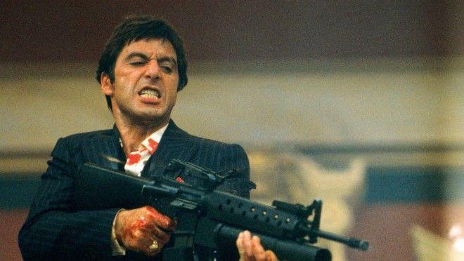 12 histoires incroyables sur le film SCARFACE avec Al Pacino