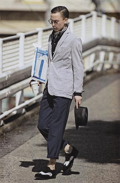 """""""The Seersucker Classics"""" for Popeye Magazine May 2010 (#757) ph: Seishi Shirakawa mo: Sen Mitsuji"""