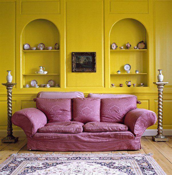 Complementary Color Scheme In Interior Design