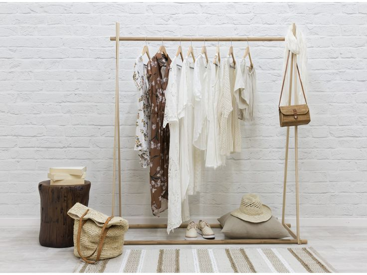 Minka A-Frame Large – Bamboo Clothing Rack | Shop Now