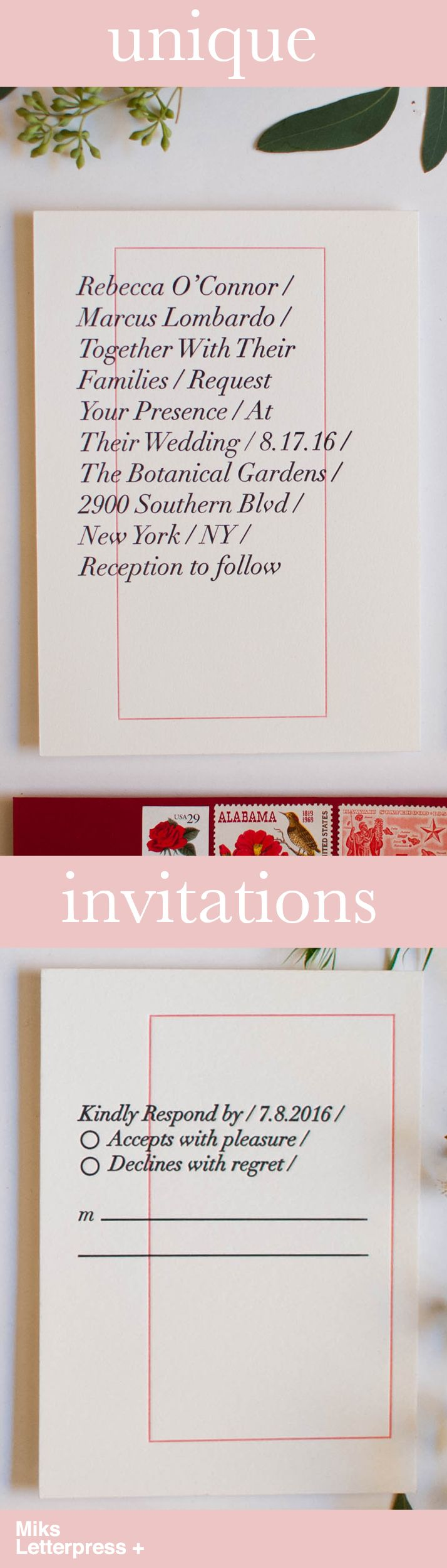 reply to wedding invitation m%0A Looking for modern wedding invitations and save the date u    s for your special  day  Take a