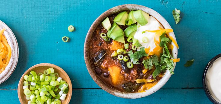 After a long day, it can be hard to muster the energy to cook a healthy dinner. That's why the crock pot is one of the best kitchen inventions of all time! Especially when the end result is this Sweet Potato Chipotle Chili.