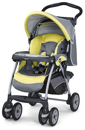 Cortina Stroller Limonata Carseat Snaps Into Stroller