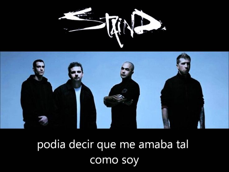 staind - it's been a while !sub español!