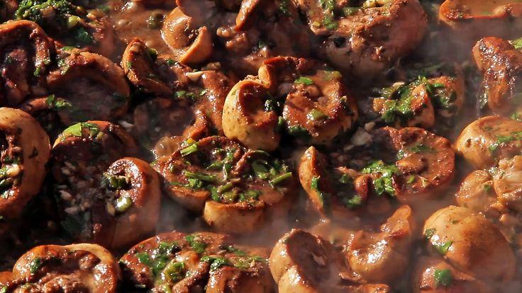 Como preparar Riñones a la Provenzal! La más rica receta de riñones en el disco de arado!! Que la disfruten