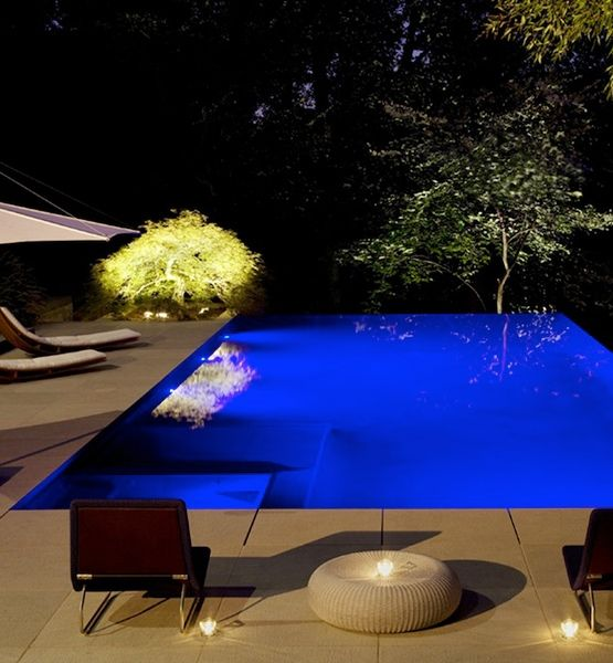 75 best swimming pool area ideas images on pinterest decks landscaping and backyard patio for Swimming pool lighting options