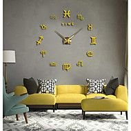 Modern/Contemporary+Country+Casual+Office/Business+Abstract+Wall+Clock,Round+EVA+Stainless+steel+Indoor/Outdoor+Indoor+Clock+–+GBP+£+29.53