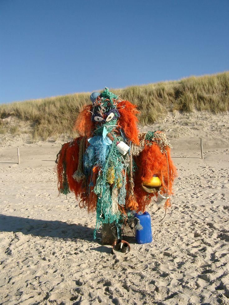 'Vogelverschrikker', strand Callantsoog