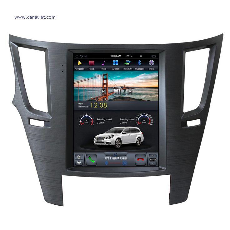 vertical screen tesla android autoradio car multimedia stereo gps navigation dvd radio audio sat nav head unit subaru outback legacy 2008 2009 2010 2011 2012 2013 2014